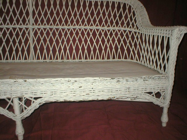 Pin Wicker Chair With Cushion On Pinterest