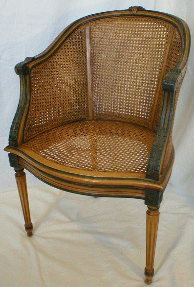 Photo on caning chairs repair